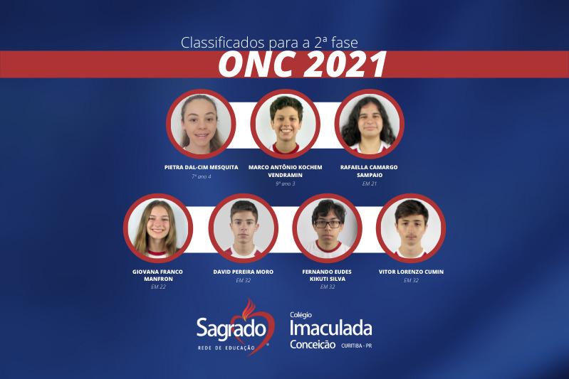Educandos do Imaculada são classificados para a 2ª fase da Olimpíada Nacional de Ciências