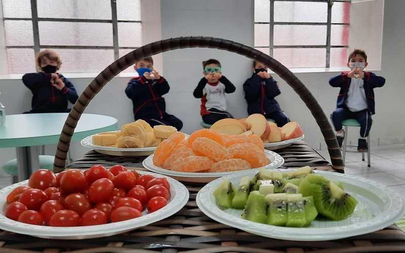 Alimentação Saudável é tema de atividades das turmas do Período Integral