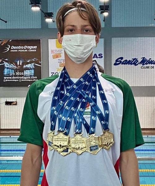 Educando Lucas Saldo, do 9º ano, é convocado para representar o Paraná nos Jogos Escolares Brasileiros