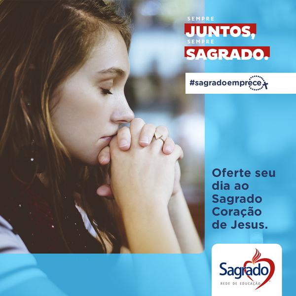 #SagradoEmPrece