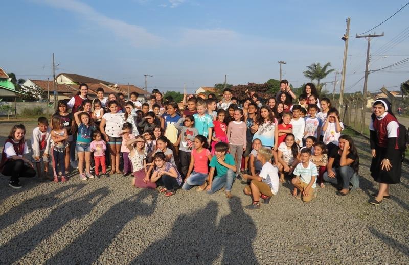 Missão Cleliana 2018 - Atividades recreativas com as crianças