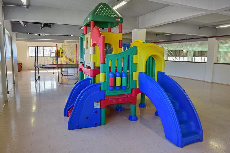Parque Infantil Coberto